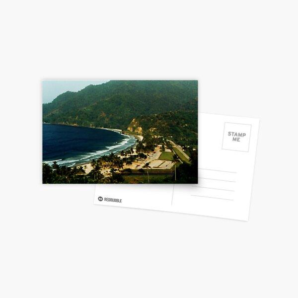 Maracas Bay Postcard