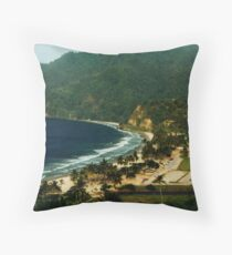 Maracas Bay Throw Pillow