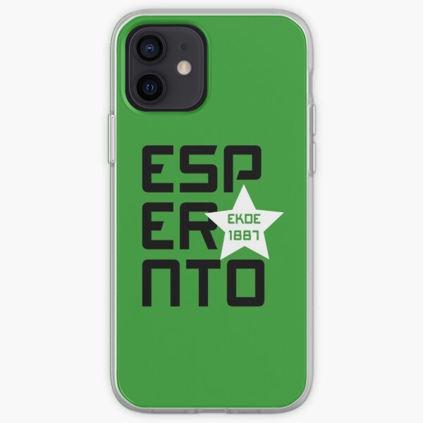 Esperanto: Ekde 1887 iPhone Soft Case