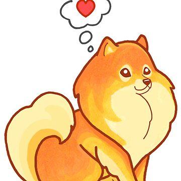Pomeranian Love by rachels1689