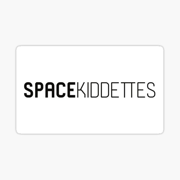 Space Kiddettes Logo Sticker