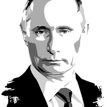 Putin The President Of Russia  by Goshadron