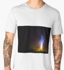 Blue roman candle Men's Premium T-Shirt