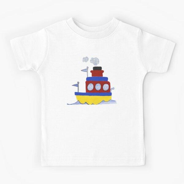 Tugboat - Boys' Decor Kids T-Shirt