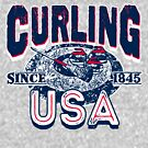 Curling USA Since 1845 by MudgeStudios