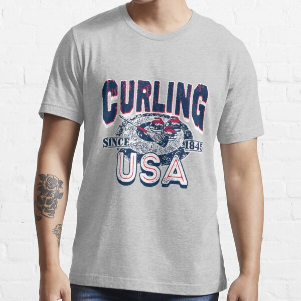 Curling USA Since 1845 Essential T-Shirt