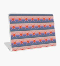 Fair isle sunset Laptop Skin