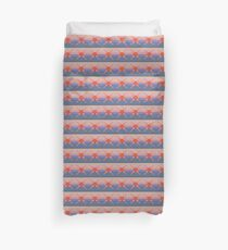 Fair isle sunset Duvet Cover
