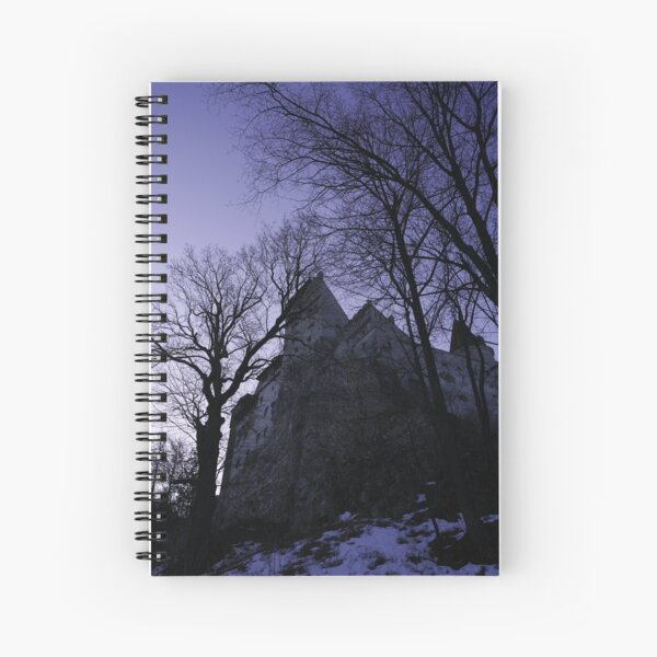 The Bran Castle...Transilvania Spiral Notebook