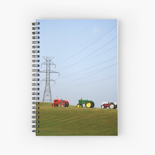 Diesel and Electric Spiral Notebook