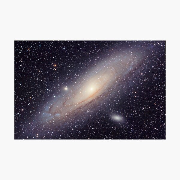 The Andromeda Galaxy Photographic Print