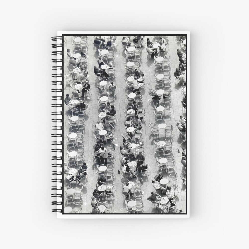 Coffee Drops Spiral Notebook