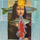 fish lisa card by Soxy Fleming