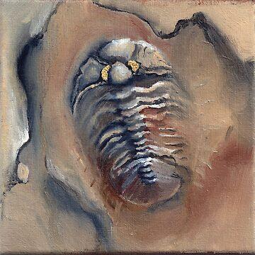 Goldeneye Trilobite by flyingtrilobite