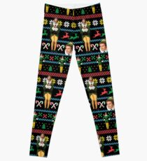 Buddy The Elf Ugly Christmas Sweater Design Classic Xmas Movie Fun Gift Will Ferrell Leggings