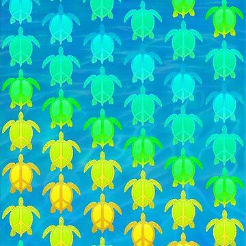 Peace Turtles by rachels1689