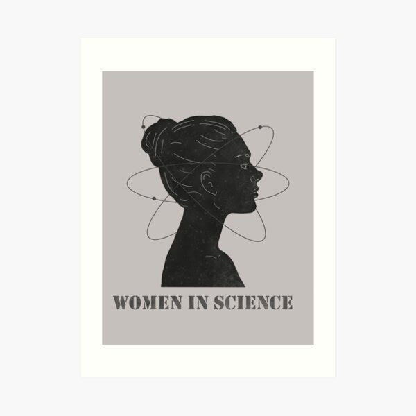 Women March for Science Art Print