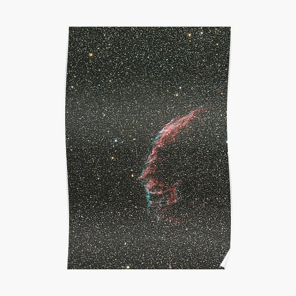 The Large Veil Nebula Poster