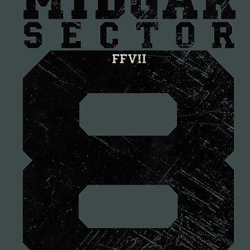 Midgar Sector 8 - Black Edition by Lidra