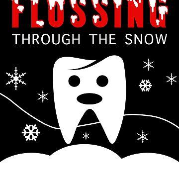 Funny Dentist Floss Christmas by customshirtgirl