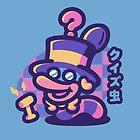 Quiz Worm by minilla