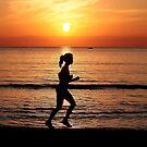 Alcudia beach majorca spain sunrise by Simon-dell