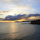 Sunset over Capo Caccia, Alghero, Sardinia (Italy)  by Christine Oakley