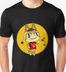 ACNL and Haikyuu Kenma Cross Over, (circle and stars) T-Shirt