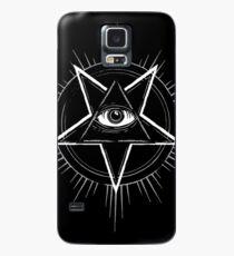 Illuminati Eye of Providence Pentagram Case/Skin for Samsung Galaxy