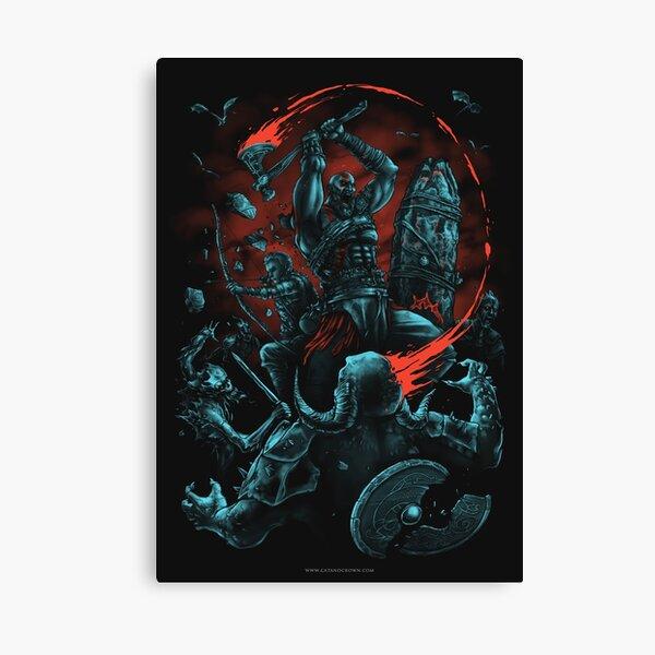 Furious Deity Canvas Print