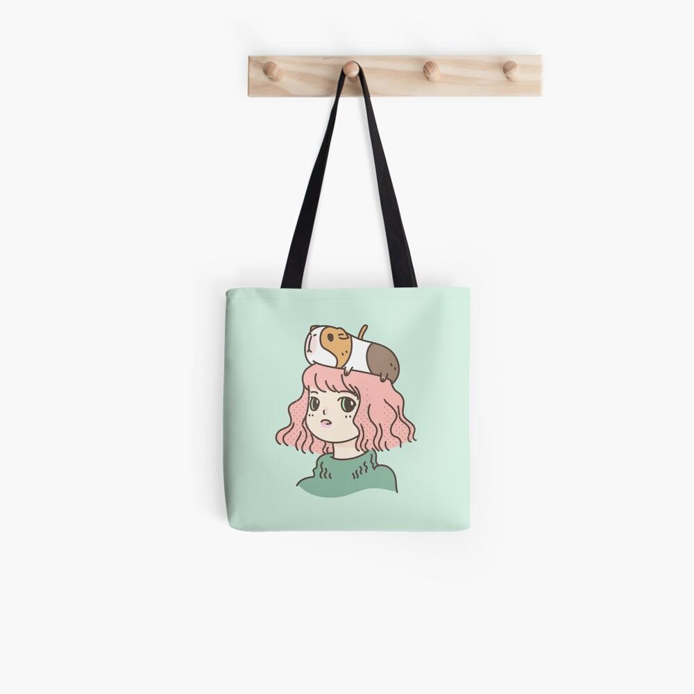 Guinea pig lady  Tote Bag