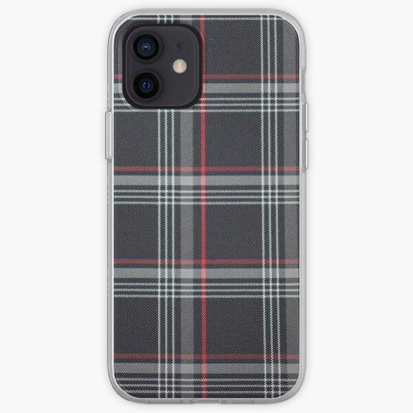 patrón cuadrado Funda blanda para iPhone