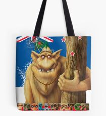 George a rock troll Tote Bag