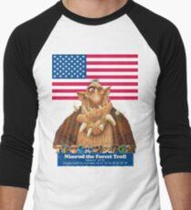 Nimrod the Forest Troll Men's Baseball ¾ T-Shirt