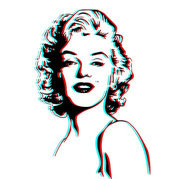 Marilyn Monroe 3D by YellowLion