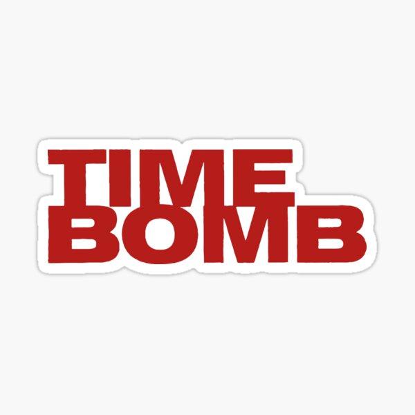 TIME BOMB  Sticker