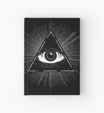 Illuminati Occult Pyramid Sigil Hardcover Journal