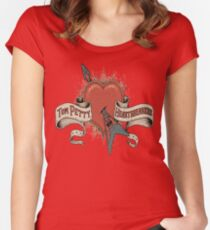 irull Tom penu Petty and The Heartbreakers logo 2018 2019 Women's Fitted Scoop T-Shirt