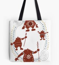 Rock Troll Art Tote Bag