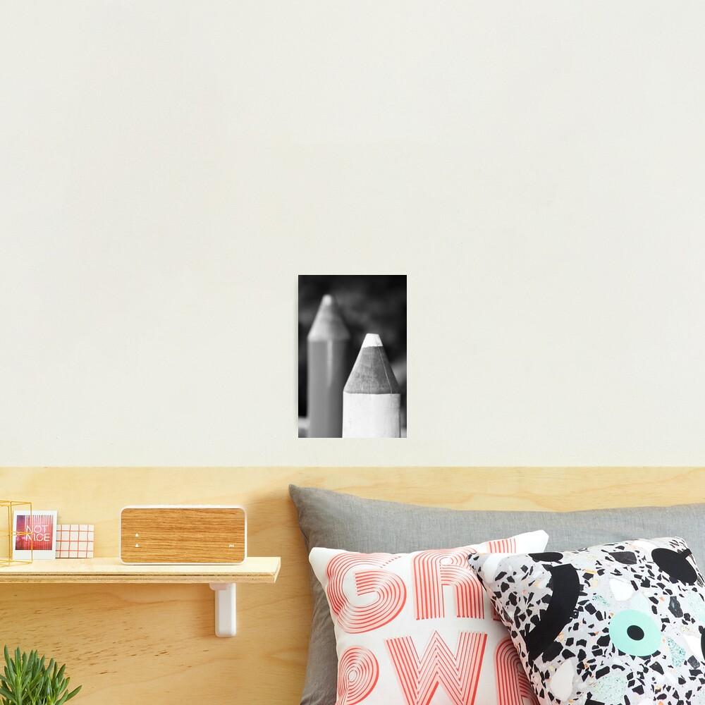 Black & White Pencils Photographic Print