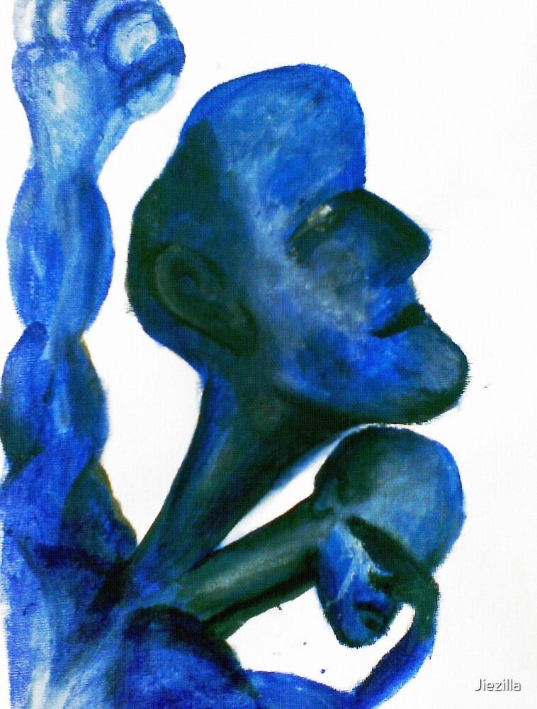 Blue treatment by Jiezilla