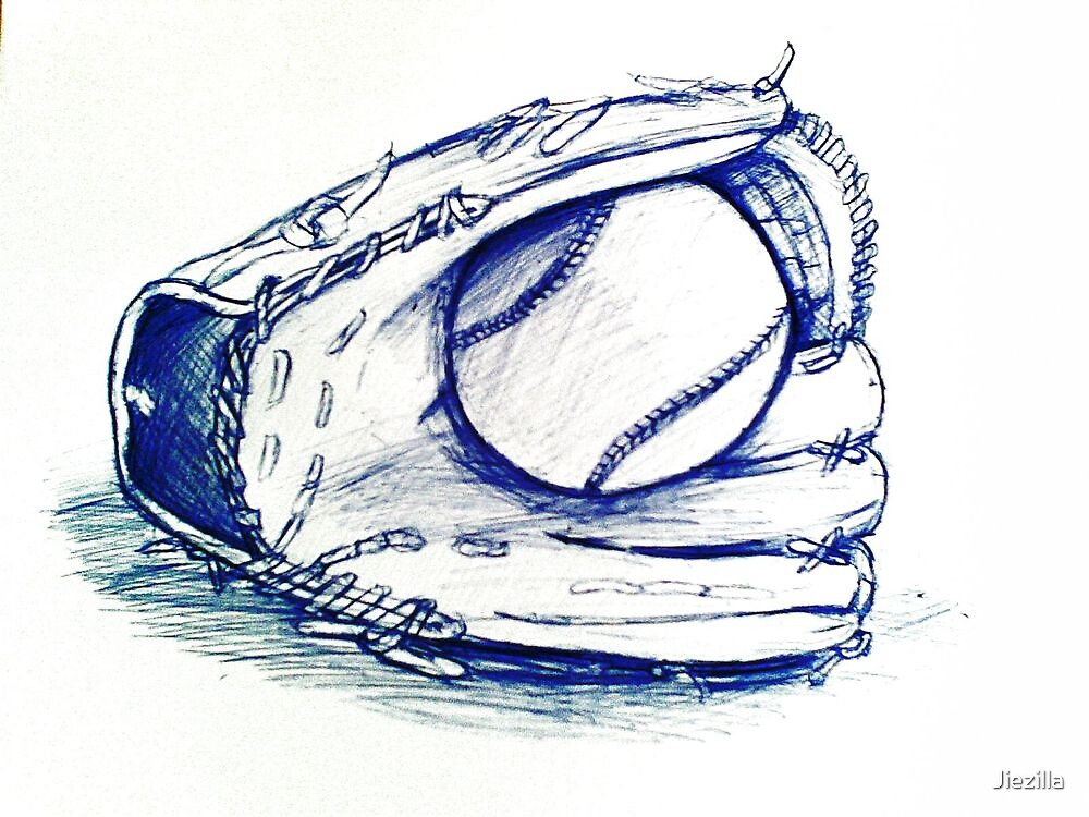 The glove and the ball... by Jiezilla