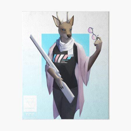 Invincible Art Board Print