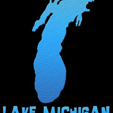 Lake Michigan Great Lakes Outline by gorff