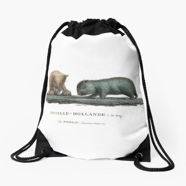 Le Wombat Drawstring Bag