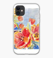 Tulips at Deja Bru iPhone Case
