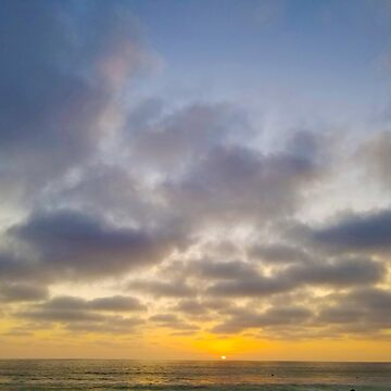 SUNSET IN CARLSBAD by Tammera