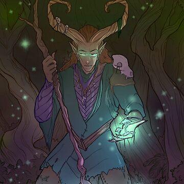 Forest Spirit by tobiejade