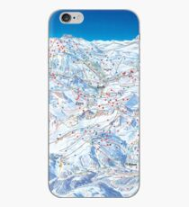 Ski Arlberg Ski Area Map (Old) iPhone Case