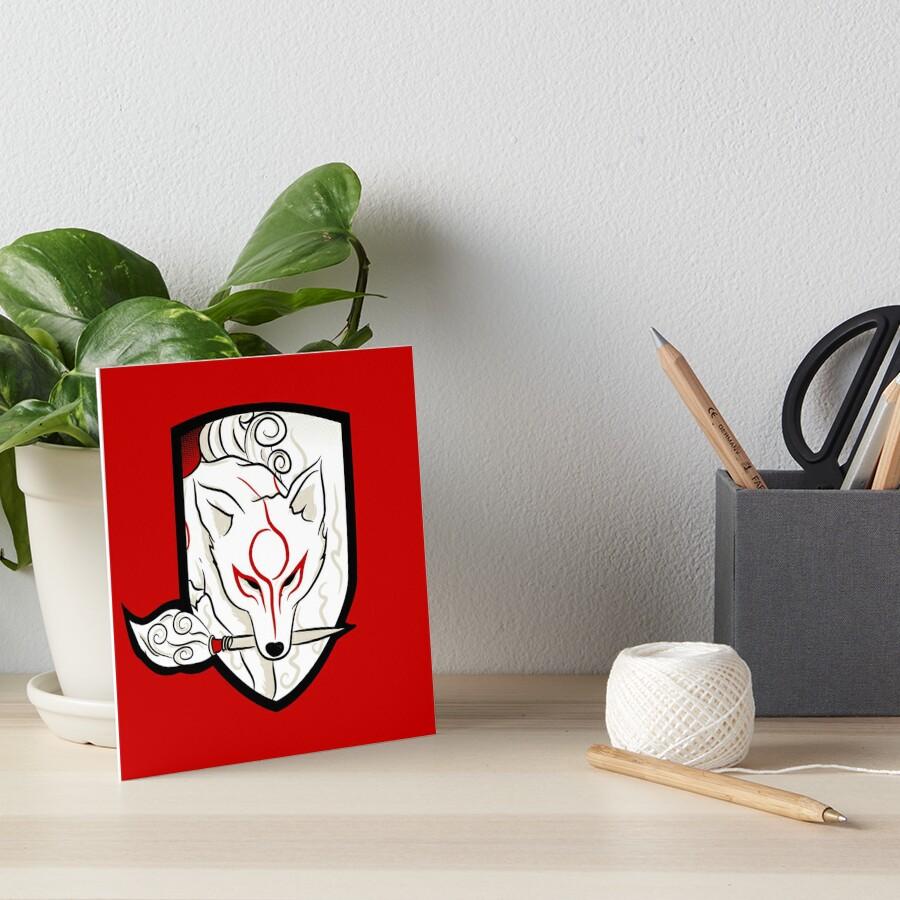 God Hound / Okami Art Board Print